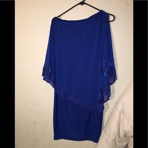 Enfocus Studio Royal Blue Dress